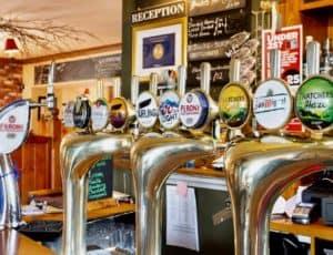 Usk Pub Drink Pic Beers