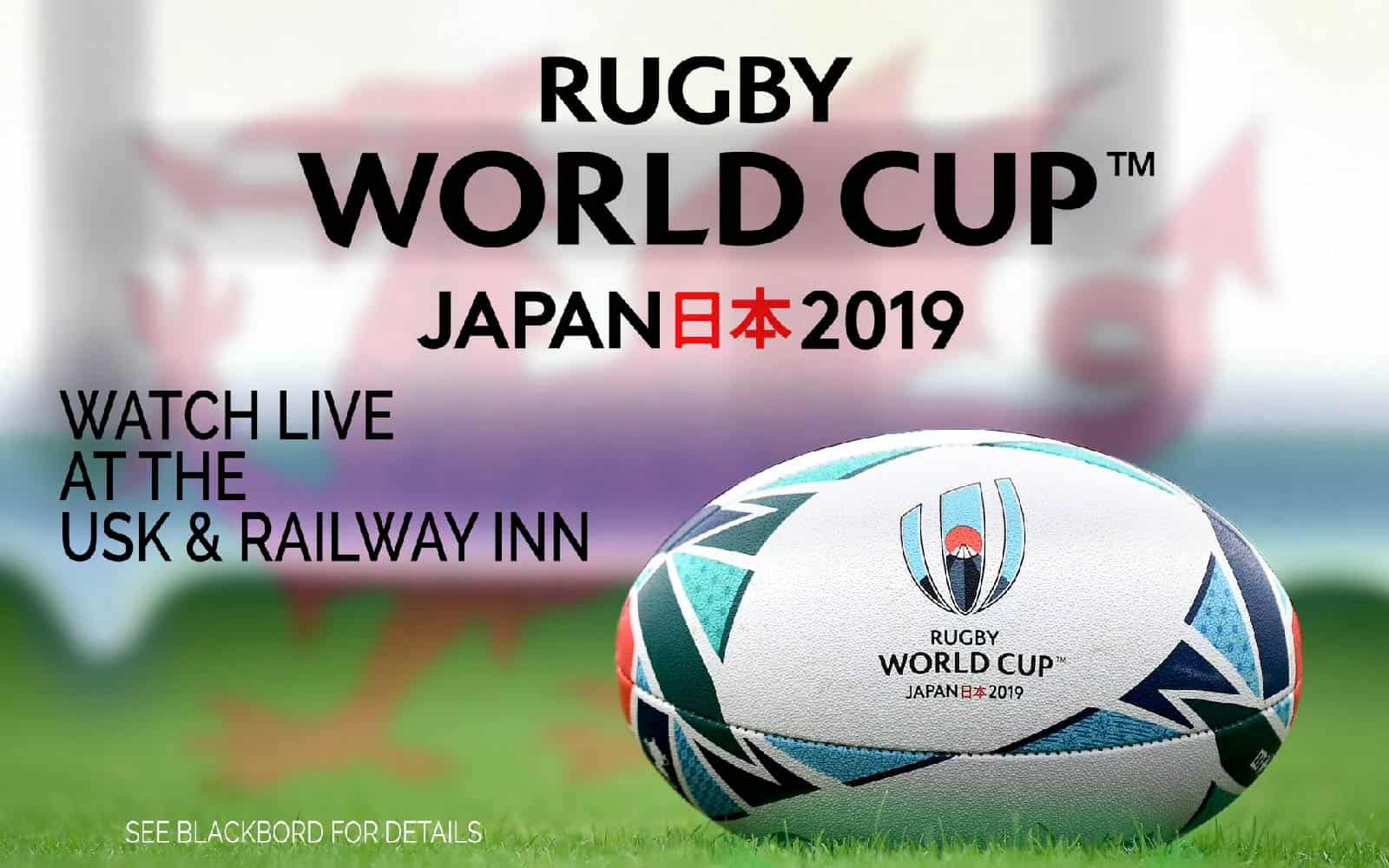 Watch The Rugby World Cup Usk And Railway Inn